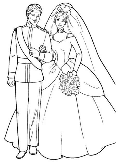 coloriage mariage - Discours Pour Mariage