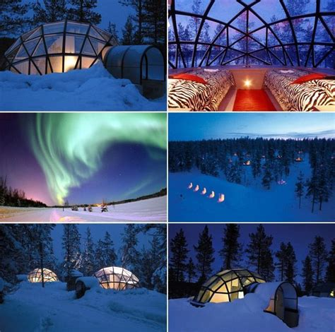 Rent A Glass Igloo In Finland And Sleep Under The Northern