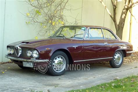 Alfa Romeo 2600 Sprint Coupe Auctions  Lot 4 Shannons