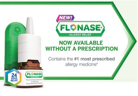 Flonase Is Now Available Over The Counter