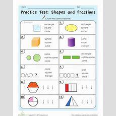 Fraction Tests 3rd Grade  Grade 3 Math Test Printable Scalien3rd Fraction Posttest 3rd Mon Core