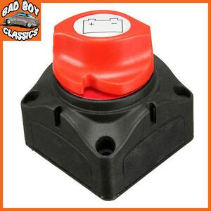 Marine Boat Battery Isolator Cut Off Kill Switch Removable