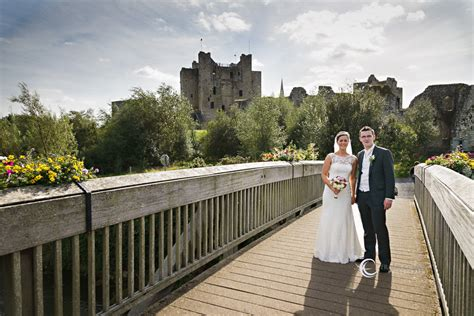 trim castle hotel wedding  claire stephen