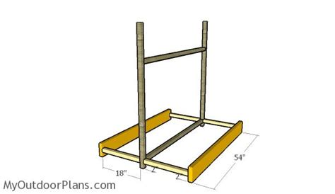 kayak storage rack plans myoutdoorplans