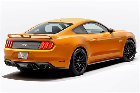 2018 Ford Mustang Brings Design Updates, Loses V6 Engine