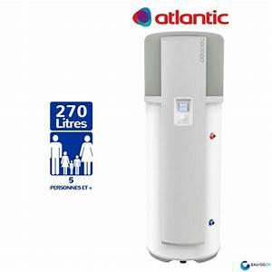 Chauffe Eau Thermodynamique Prix : prix chauffe eau thermodynamique atlantic 300 ~ Melissatoandfro.com Idées de Décoration