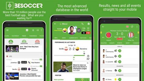 european football apps  soccer apps  android