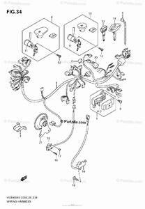 Suzuki Motorcycle 2009 Oem Parts Diagram For Wiring