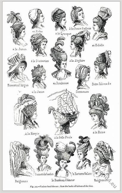 Marie Antoinette Hairstyles Rococo History Century Hair