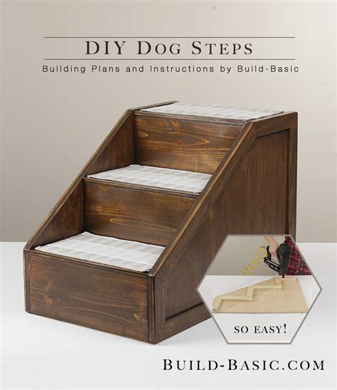 Bett Mit Stufen by Build Diy Pet Steps Build Basic