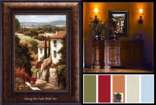 tuscan decorating colors wall color and paint colors