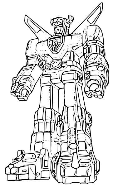 Voltron Lions Free Coloring Pages