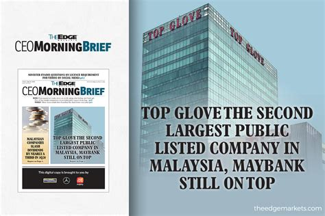 Public packages holdings bhd s. Top Glove the second largest public listed company in ...