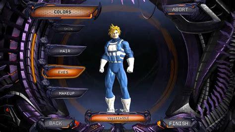 vegetatrunks ssj character creation dc universe