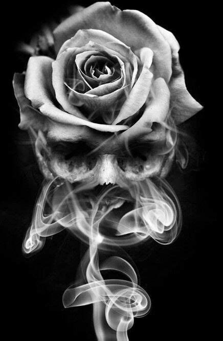 Pin by Chad Beard on The Meaning of Life | Skull rose tattoos