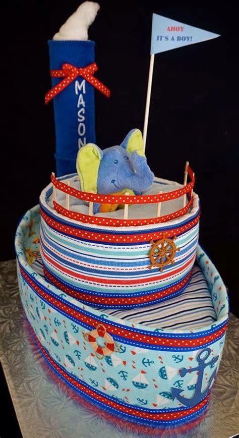 Tugboat Cake by Tug Boat Diaper Cake Www Facebook Diapercakesbydiana