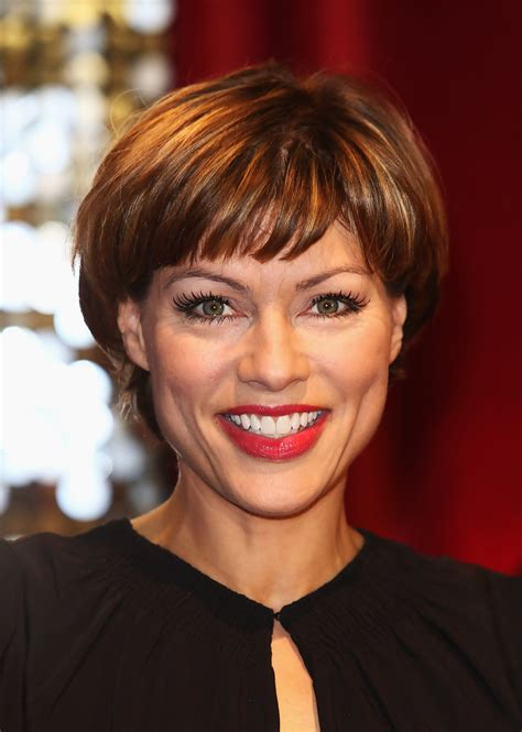 kate silverton short cut  bangs short hairstyles