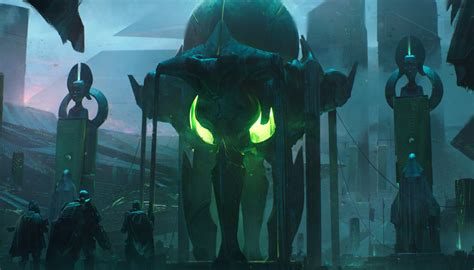 incredible destiny  concept art shows planets creatures