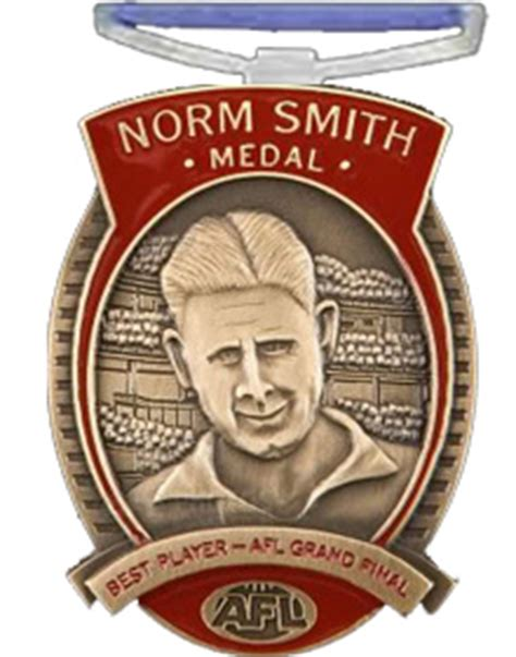 norm smith medal winners norm smith medal history