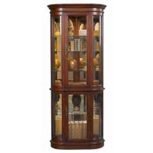 curved front corner curio cabinet walmart com
