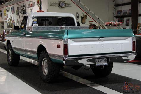 1971 Chevrolet K10 Custom 4x4 Pickup Truck