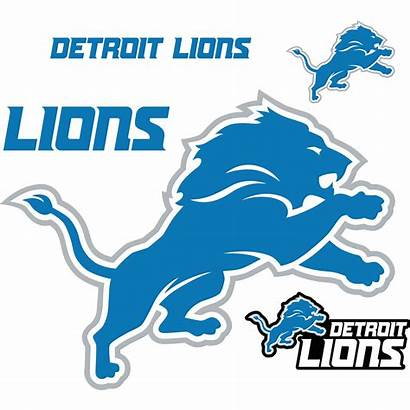 Lions Detroit Nfl Decal Removable Giant Licensed