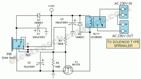 automatic room light control upon human presence motion sensor switch for light alarm or sprinkler