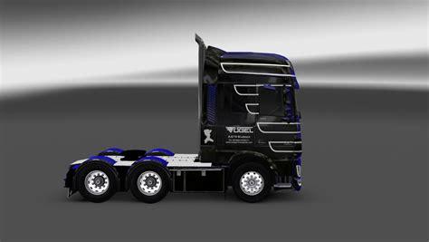 daf xf euro vogel transport skin pack ets euro truck