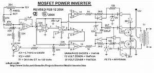 Skema Rangkaian Inverter 1000 Watt