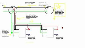 Wiring Diagram 3 Way Switch With 2 Lights Electrical And A Light Wire