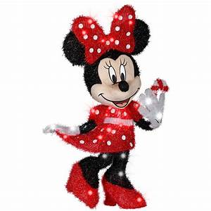 Shop Gemmy 2 56-ft Minnie Mouse Outdoor Christmas