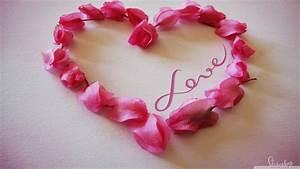Wallpaper of Roses and Hearts - WallpaperSafari