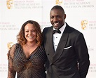 Idris Elba walks BAFTA red carpet with Naiyana Garth