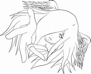 Reach Out WIP Lineart by SomberMidnight.deviantart.com on ...
