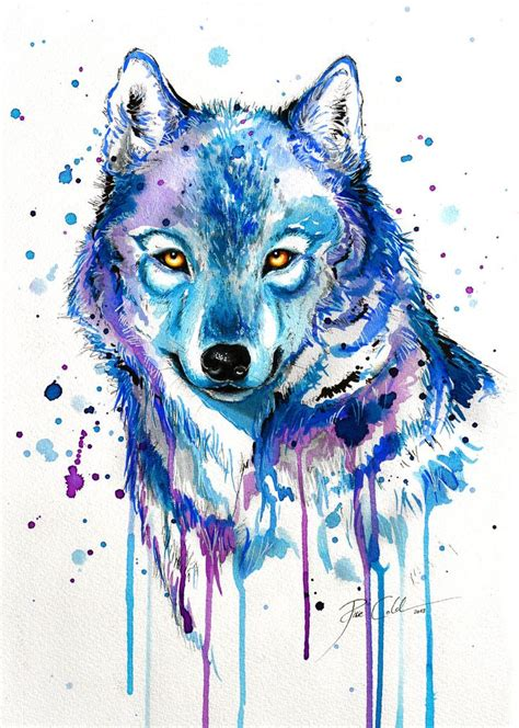 wolf painting ideas  pinterest wolf drawings