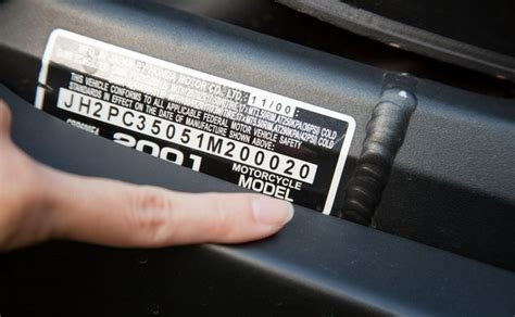 How To Decode The Vin Number On A Honda Motorcycle