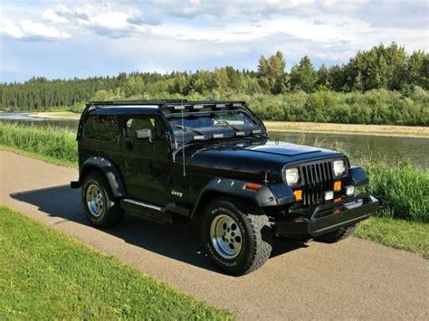 jeep wrangler yj   chop custom  sale  technical specifications