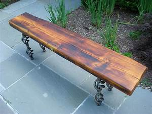 reclaimed wood bench coffee table with steel base by With reclaimed wood bench coffee table