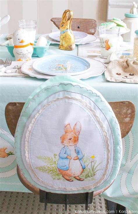 karas party ideas spring easter party  peter rabbit