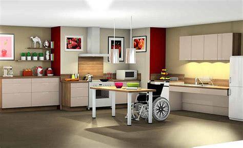 cuisine adapté handicap aménagement handicapé budget aide au choix et