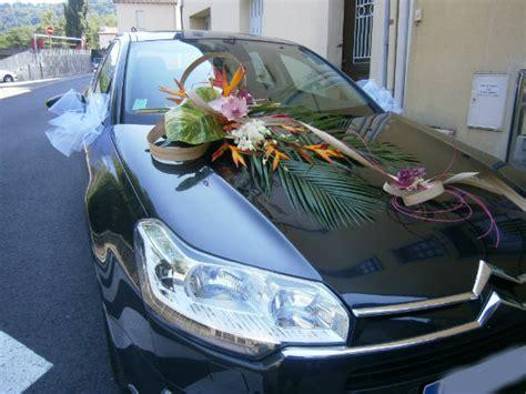 fleur mariage bouquet mari 233 e d 233 co voiture foix ari 232 ge chlorophylle