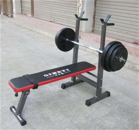 weight set and bench weightlifting bed set multifunctional weight lifting bed