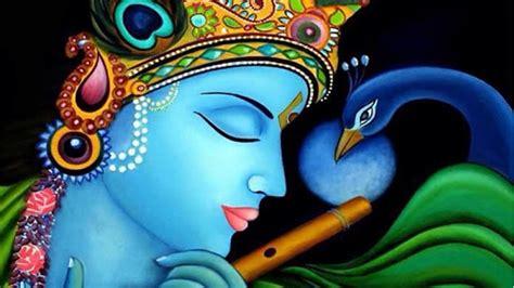 Hindu Gods Wallpapers Animated - krishna eye catching wallpaper animated photo hindu gods