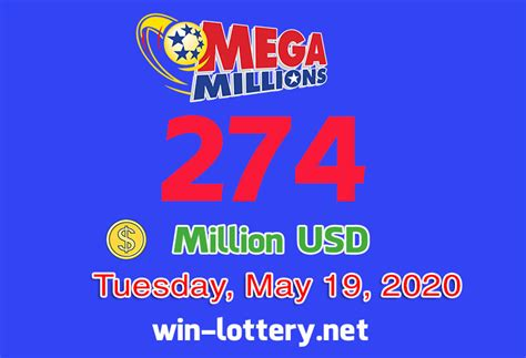 Whether you're looking for powerball winning numbers or mega millions winning numbers: THE RESULTS OF MEGA MILLION ON MAY 15, 2020; JACKPOT IS ...
