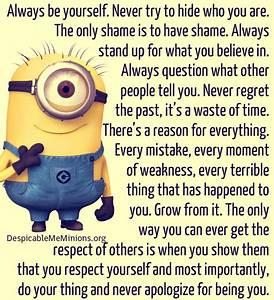 Minion Quotes Inspirational QuotesGram