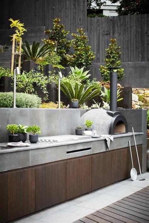 maravillosas ideas  incluir  asador de jardin luxsa