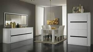 top 4 de nos salles a manger design le blog matelpro With meuble salle À manger avec chaise blanche design salle a manger
