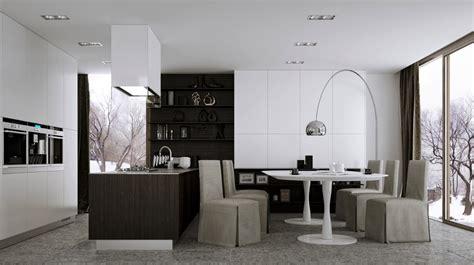 kitchen dining decorating ideas 12 modern eat in kitchen designs