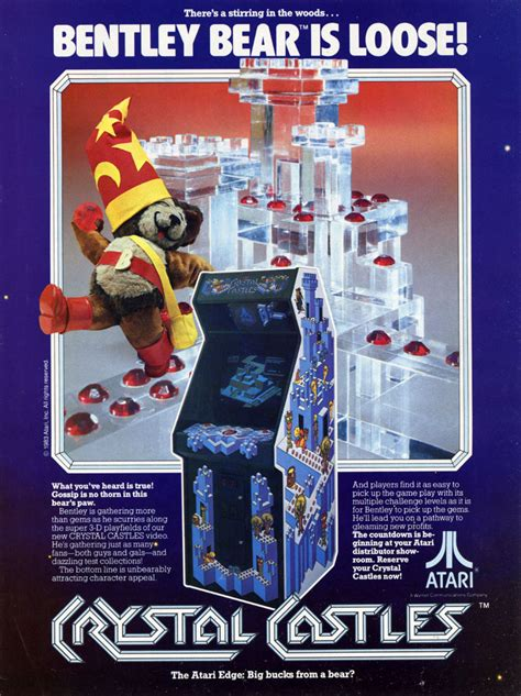 The Arcade Flyer Archive - Video Game Flyers: Crystal ...