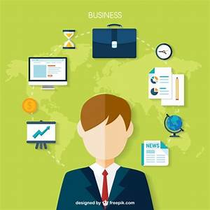 Global business Vector   Free Download